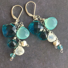 Load image into Gallery viewer, Island Breeze Cascade Earrings, Metal Choices