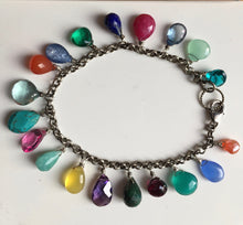 Load image into Gallery viewer, Multi-gemstone bracelet
