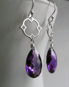 Mini Mo Kunzite Drop Earrings