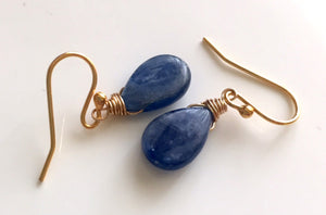 Kyanite Smooth Earrings