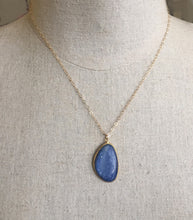 Load image into Gallery viewer, Kyanite Bezel Pendant, Great Size and Quality- One of a Kind