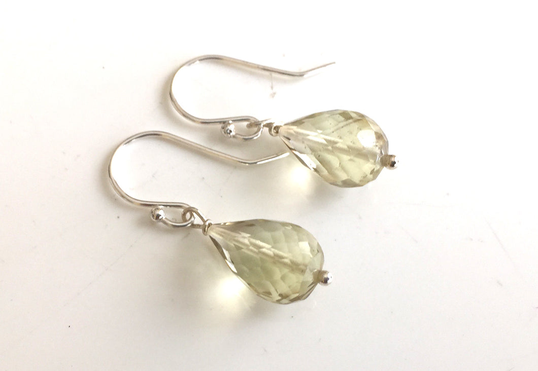 Lemon Quartz Teardrop Teenies