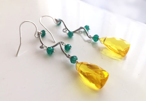 Lemon Vine Earrings