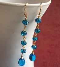 Load image into Gallery viewer, Ear Candy Dangles, London Blue