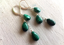 Load image into Gallery viewer, Natural Malachite Necklace