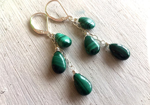 Natural Malachite Necklace
