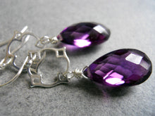 Load image into Gallery viewer, Mini Mo Kunzite Drop Earrings