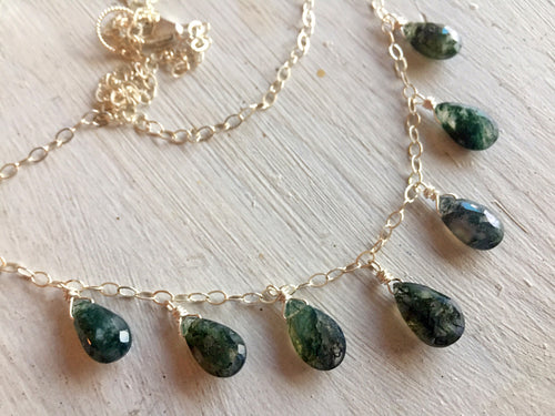 Moss Opal Necklace