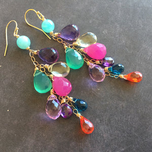 Party Over Here Dangle Earrings, Metal and earwire choices, LIMITED quantity