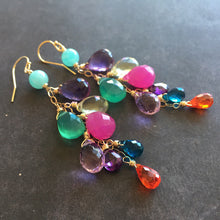 Load image into Gallery viewer, Party Over Here Dangle Earrings, Metal and earwire choices, LIMITED quantity
