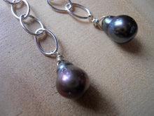 Load image into Gallery viewer, Pearly Girl Dangle Earrings