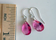 Load image into Gallery viewer, Petunia Pink earrings