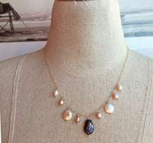 Load image into Gallery viewer, Paradise Freshwater Pearl Necklace, Metal options