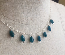Load image into Gallery viewer, Rolling Waves Apatite Chandelier Earrings