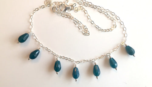 Rolling Waves Apatite Necklace