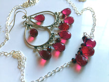 Load image into Gallery viewer, Ruby Slippers Necklace
