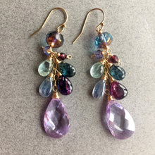 Load image into Gallery viewer, Pale Violet Whimsy Earrings, Limited edition