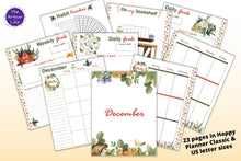 Load image into Gallery viewer, December Planner Printable Kit - Happy Planner Classic & US Letter