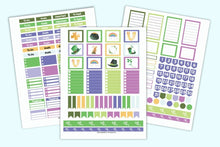 Load image into Gallery viewer, March Planner Printables Kit - US Letter and Happy Planner Classic