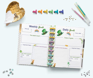 March Planner Printables Kit - US Letter and Happy Planner Classic