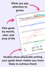 Load image into Gallery viewer, 2021 Best Year Planner Bundle - Goals & Resolutions, Self-Care and Wellness, Manifestation, Abundance Log, and Weekly Planner for 2021