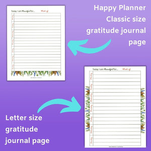 November Planner Printable Kit - Happy Planner Classic & US Letter