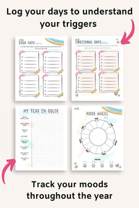 2021 Best Year Planner Bundle - Goals & Resolutions, Self-Care and Wellness, Manifestation, Abundance Log, and Weekly Planner for 2021