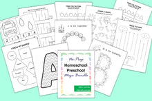 Load image into Gallery viewer, Homeschool Preschool Mega Activity Bundle