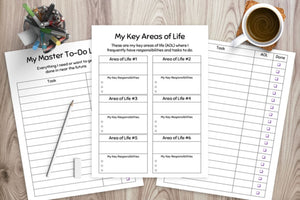 Printable To Do Lists - Monthly, Weekly, and & Daily To-Do Lists