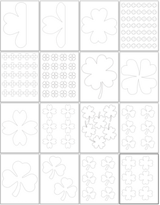 22 Shamrock Templates & Four Leaf Clover Templates
