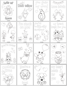 Valentine's Day Coloring Pages for Kids