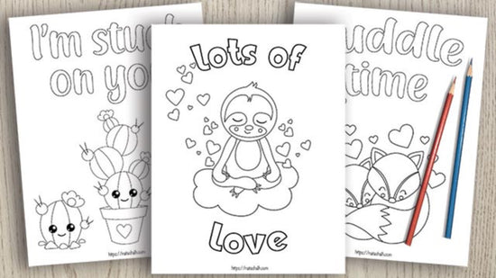 15+ Valentine's Day Coloring Pages For Kids - The Artisan Life