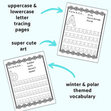 Load image into Gallery viewer, Winter Preschool Learning Bundle