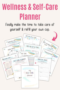 Wellness and Self-Care Planner