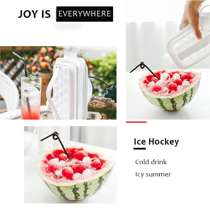2-in-1 Keep Cold Portable Ice Kettle