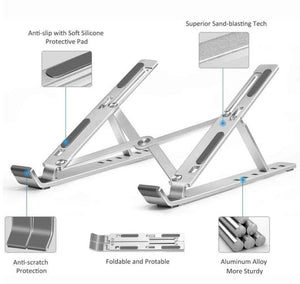 Ergonomic design Portable laptop stand