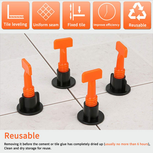 40%OFF-Reusable Anti-Lippage Tile Leveling System (50 Pcs/ Pack)