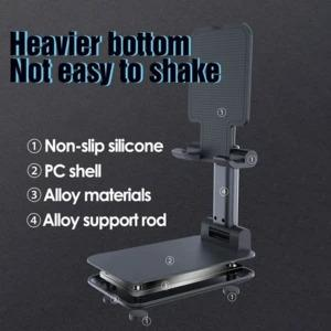 Height Adjustable- Wireless Charging Mobile Phone Stand