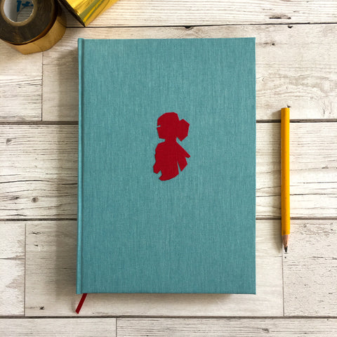 Personalised Notebook, A5, Blank - Cameo