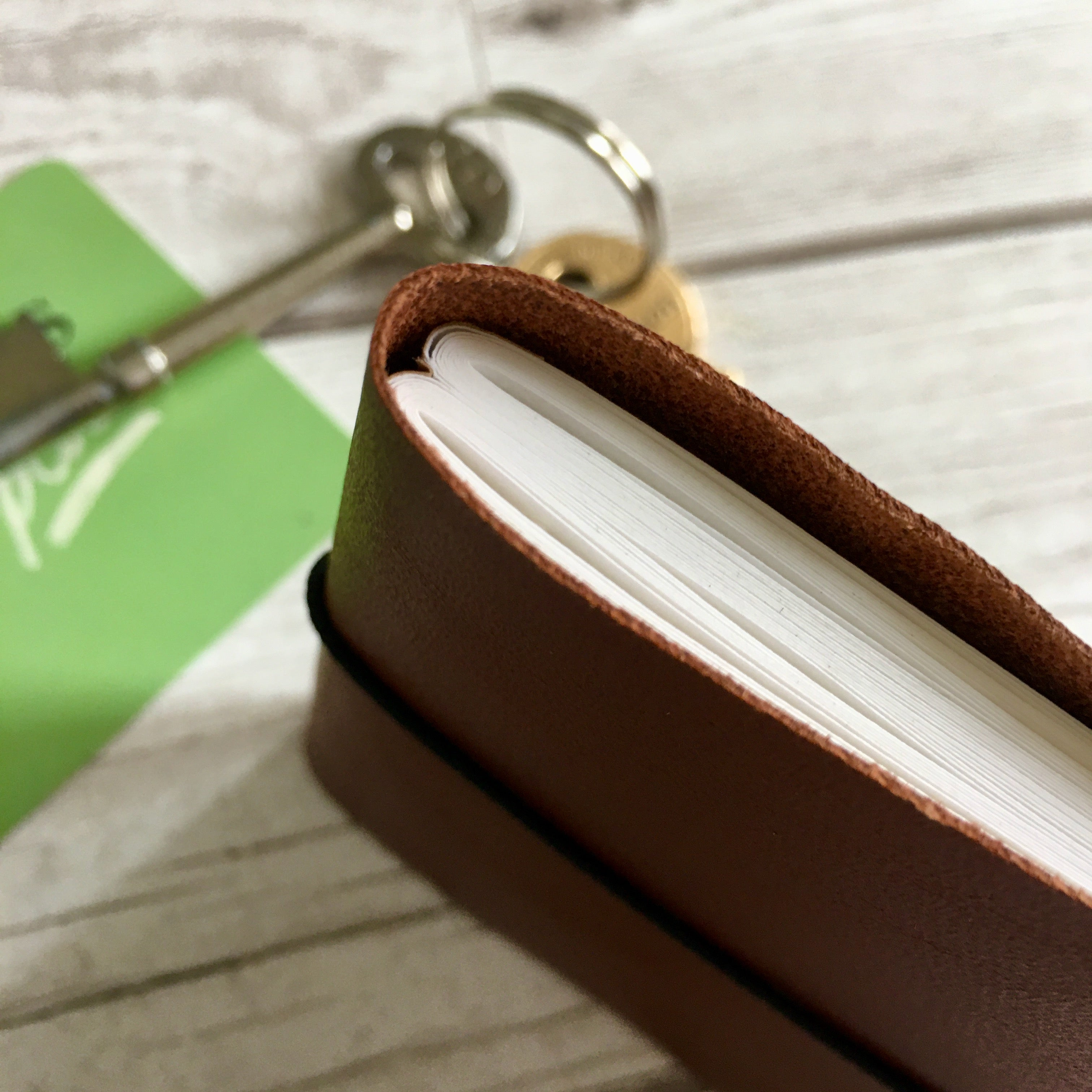 Personalised Leather Wallet Notebook