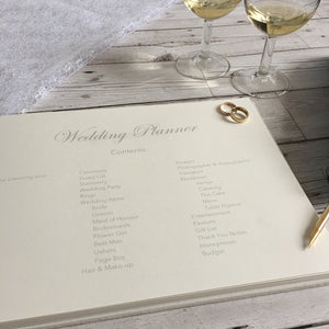 Wedding Planner, Printed - Ribbon-Bound