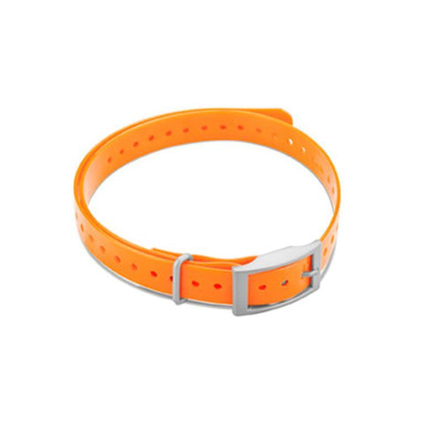 "Garmin 3/4"" Square Buckle Collar Strap - Orange"