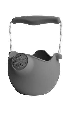 Scrunch Watering Can - Dark Grey - Dimple and Dot