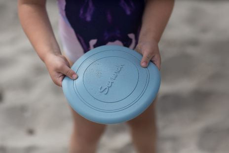 Scrunch Frisbee - Duck Egg Blue - Dimple and Dot