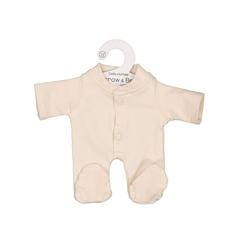 Almond Sleep Suit for 21cm Doll - Dimple and Dot
