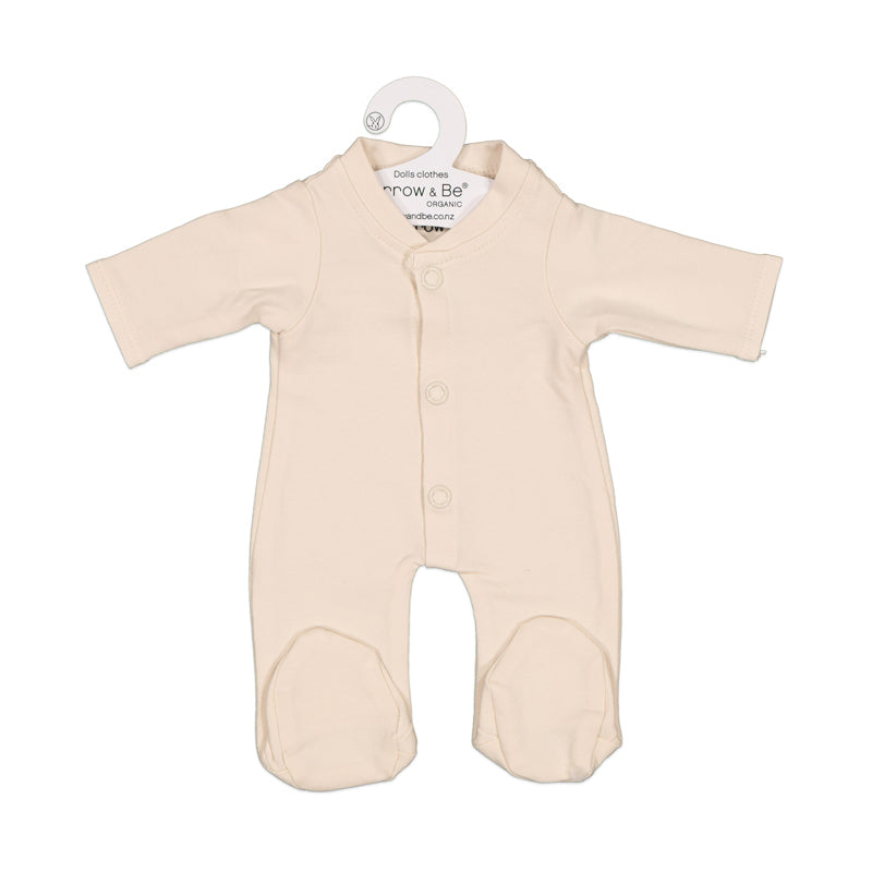 Almond Sleep Suit for 38cm Doll - Dimple and Dot