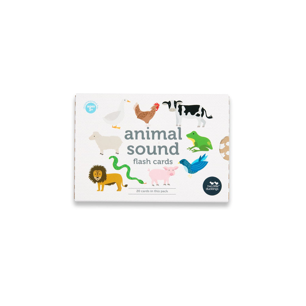 Animal Sounds Flash Cards - Dimple and Dot