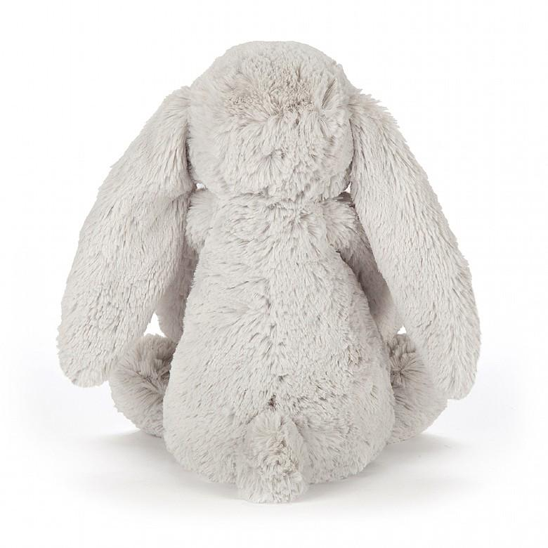 Jellycat Blossom Bashful Silver Bunny - Medium - Dimple and Dot