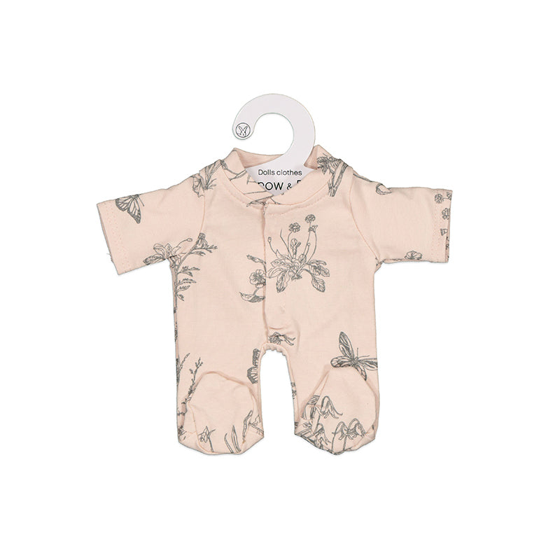 Blush Meadow Sleep Suit for 21cm Doll - Dimple and Dot