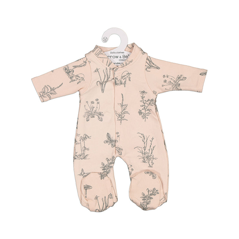 Blush Meadow Sleep Suit for 38cm Doll - Dimple and Dot